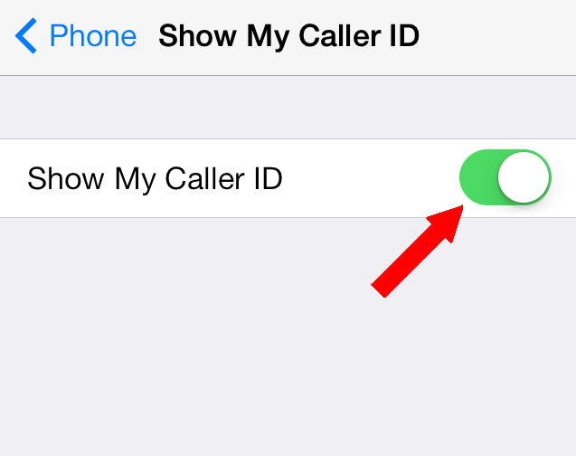 how to block caller id iphone and android