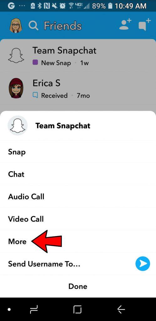 snapchat do not disturb
